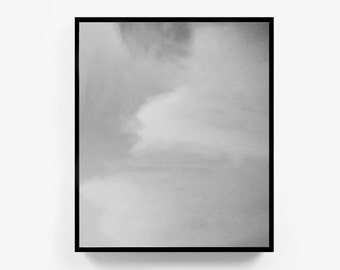 Minimalist Photography, Abstract Photography, Cloud Photography, Minimalist Art, Abstract Artwork, Modernist Art, Black and White