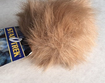 1998 STAR TREK TRIBBLE with sound - plush toy with original tags
