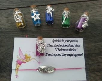 Fairy dust -Magic wishing dust - tooth fairy - pixie dust - wish bracelet-gift for little children