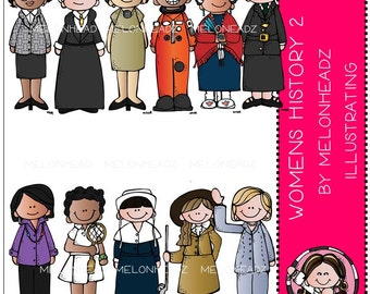 Womens History clip art Part 2 - COMBO PACK