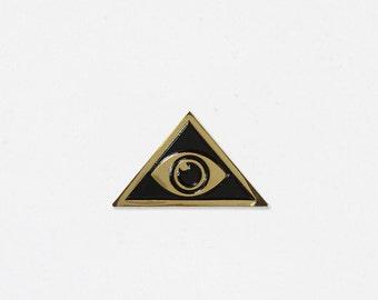 Illuminati Soft Enamel Lapel Pin