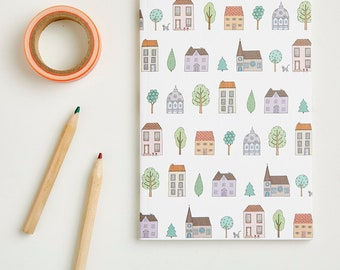 Small Town Houses Notebook