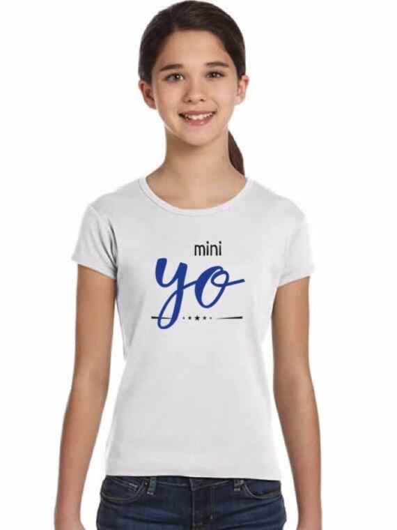 Girl t-shirt/body YO in various colors