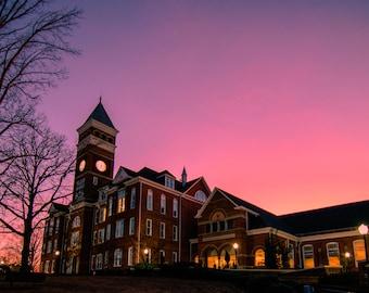 Tillman Hall Pink Sunset