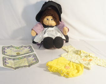 1982 Cabbage Patch doll, with handmade outfit