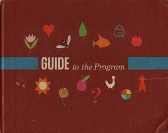 Guide To The Program + Adelaide Holl + June Goldsborough + 1970 + Vintage Kids Book