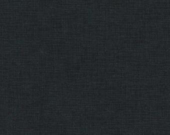 Robert Kaufman Quilters Linen Yardage Charcoal # SKU ETJ-9864-184