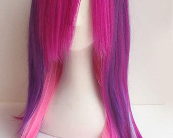 Cosplay Lolita Gothic Mix colour Wig
