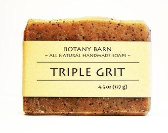 Exfoliating Soap, Organic Soap, Artisan Soap, Coffee Soap, Black Pepper Soap, Lemongrass Soap, Homemade Soap, Handmade Soap, Body Scrub