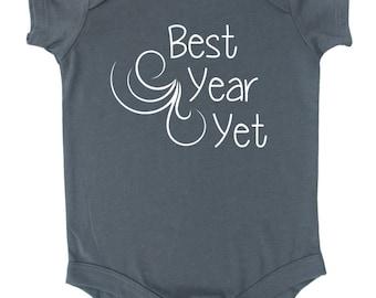 Best Year Yet Baby Bodysuit
