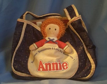 Little Orphan Annie Tote Bag from Knickerbocker, Collectible