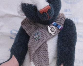 One of a kind bears and other animals made with affection using quality mohair and components