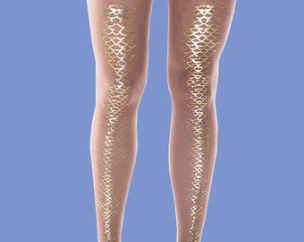 Shark nude tights, women tights, gift ideas, gift available in S-M, L-XL