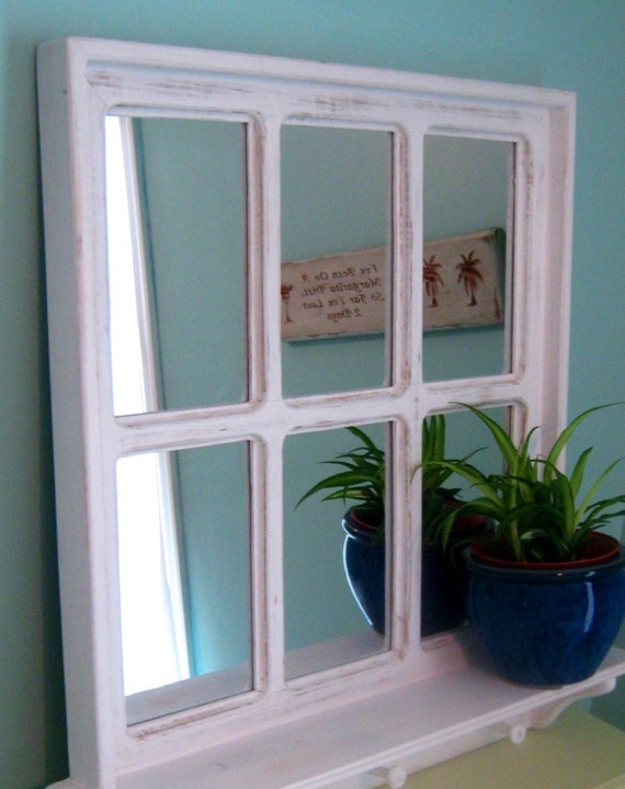 Shelves White Walls And Entry Ways: White Entryway Mirror In Bathroom Wall Shelf Shelf For