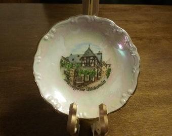 German Souvenir Plate
