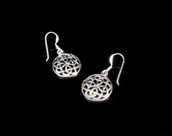 Celtic knots Silver 925 earrings