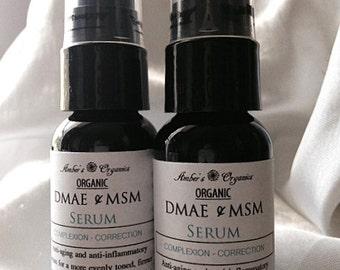 Organic DMAE & MSM Perfecting Serum- Anti-Aging
