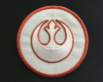 STAR WARS Rebel Alliance Patch - 2 Sizes - 2 Colors!