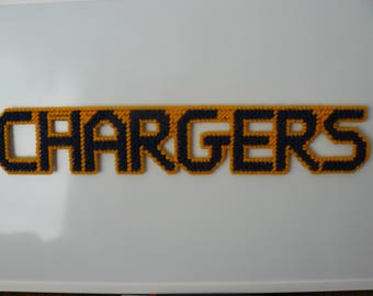 CHARGERS in Handmade Needlepoint Magnets