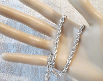 """Prince of Wales 5mm Chain Italy Necklace 18"""""""