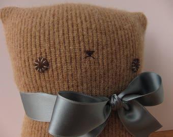 Kitty Brown Sweater Softie