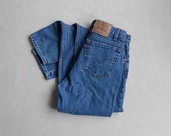 Vintage blue levis red tab jeans