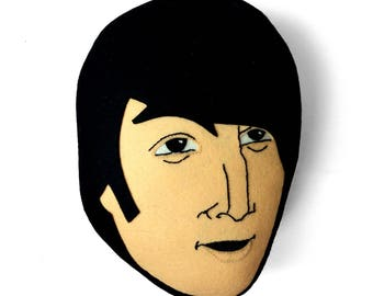 John Lennon cushion. The Beatles