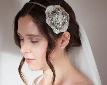 Daisy Bridal Hair Band