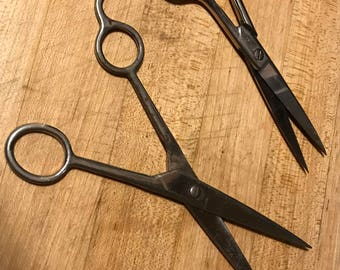 2 Pair Vintage Scissors