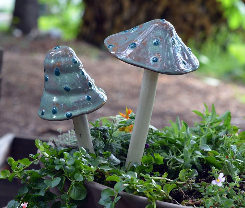 Typhoon Lagoon Mushroom. Ceramic Mushroom. Outdoor