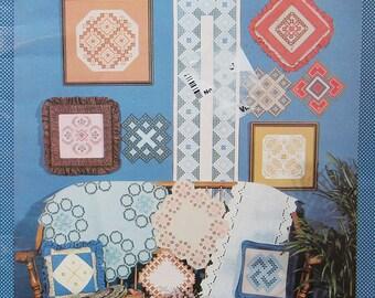 Hardanger Keepsakes Embroidery Pattern Book