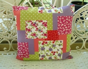 Pillow Cover Patchwork