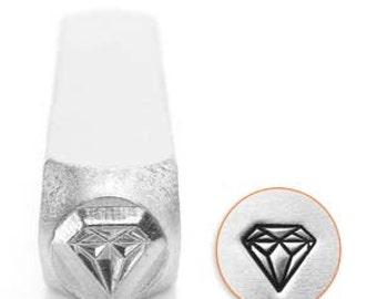 Impress Art 6mm Diamond Metal Stamp (SC1512-J-6MM)