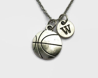 Basketball - Basketball Necklace - Basketball Player Gift - Basketball Coach - Coach Gift - Mothers Day Gift - Gift for Mom - Charm