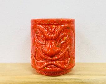 Tiki Tumbler / Mug - Red Fiesta