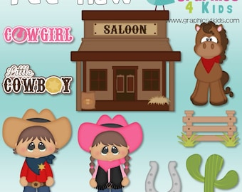 Yee haw Digital Clipart - Clip art for scrapbooking, party invitations - Instant Download Clipart Commercial Use