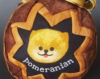 "Pomeranian ""Snow Globe"" Ornament"