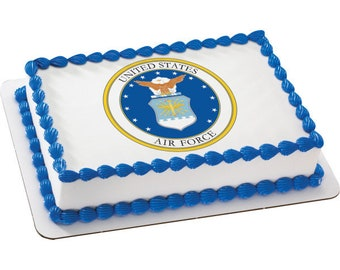 US Air Force - Edible Image