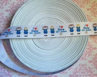 "Daisy Girl Scout Ribbon 7/8"""