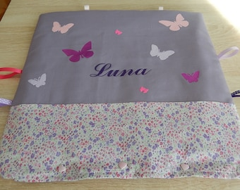 Put blanket and pajamas, deco, heating pad, smart, this Butterfly pillow!