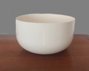 Vintage Kartell Castelli Oversize Large White Bowl