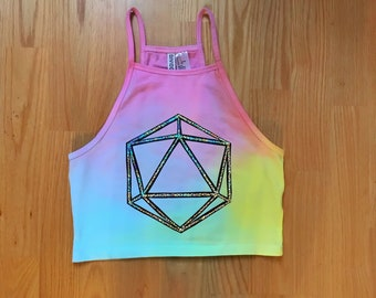 Custom ODESZA Crop Top (Available in 3 colors)