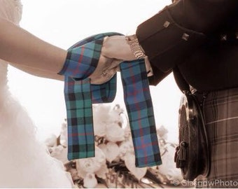 Handfasting Cloths. Handmade in Scotland.  Various tartans available Alternative Wedding