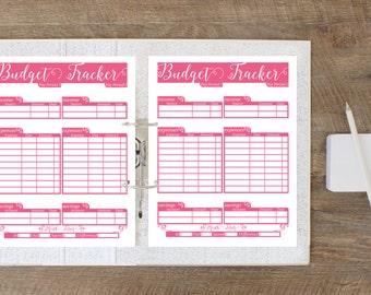 Budget Planner Printable - Budget Binder - Budget Planner Book - Printable Budget Tracker - Budget Printable - Bill Organizer - Bill Tracker