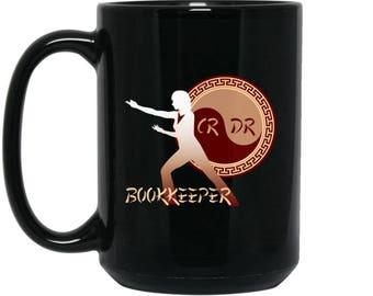 Bookkeeper Gifts For Women - Bookkeeper Coffee Mug - Gifts for Bookkeeper, Administrative Worker, Front Desk, Bookkeeper Mom Gifts