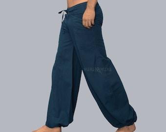 Baggy Pants - Wide Pants - Hippie - Men's Harem Pants