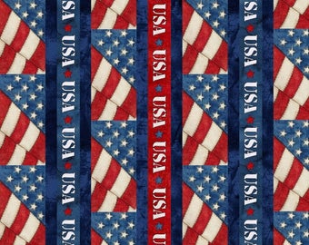 15 Yards in Stock - Blank Quilting - American Honor by Tana Mueller - 100% Cotton