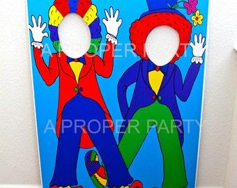 Circus - Circus Party - Circus Prop - Circus Birthday - Circus Decor - Circus Clown - Circus Clown Prop
