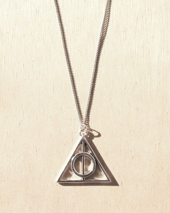 Triangle Circle Symbol Charm Necklace