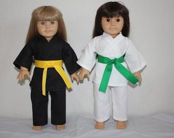 18 Inch Doll Karate Uniform (Gi)